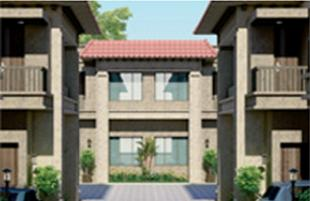 Elevation of real estate project Crystal Yaghnapurush located at Gotri, Vadodara, Gujarat