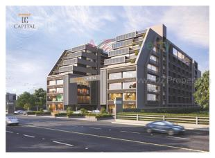 Elevation of real estate project Darshanam Capital located at Bhayali, Vadodara, Gujarat