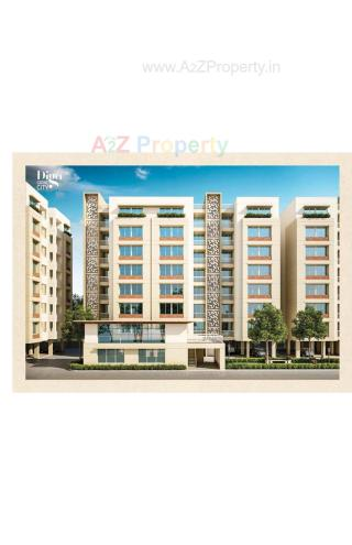 Elevation of real estate project Diya Grand City located at Vadsar, Vadodara, Gujarat