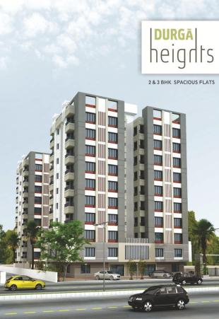 Elevation of real estate project Durga Heights For Tower A, Tower B located at Manjalpur, Vadodara, Gujarat