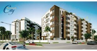 Elevation of real estate project Dwarkesh City located at Kapurai, Vadodara, Gujarat