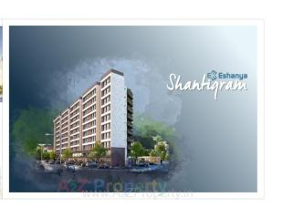 Elevation of real estate project Eshanya Shantigram located at Undera, Vadodara, Gujarat