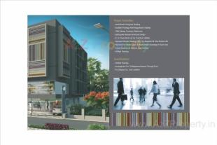 Elevation of real estate project Gangotri Icon located at Vasna, Vadodara, Gujarat