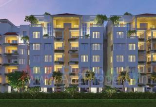 Elevation of real estate project Greenfields 2 located at Bhayli, Vadodara, Gujarat