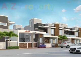 Elevation of real estate project Hari Darshan Bunglows located at Vadodara, Vadodara, Gujarat