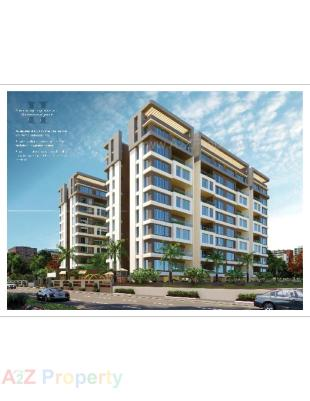 Elevation of real estate project Kalp Nishang located at Gotri, Vadodara, Gujarat