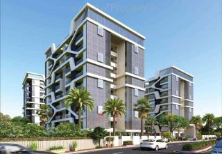 Elevation of real estate project Kalp Pavitra located at Gotri, Vadodara, Gujarat