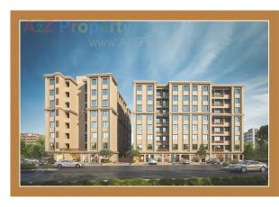 Elevation of real estate project Kamdhenu Complex located at Savad, Vadodara, Gujarat