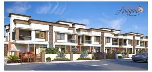 Elevation of real estate project Kanha Aangan located at Khatamba, Vadodara, Gujarat