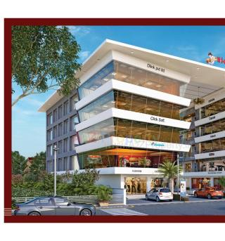 Elevation of real estate project Kanha Empire located at Tandalaja, Vadodara, Gujarat