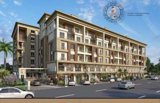 Elevation of real estate project Kanha Icon located at Kapurai, Vadodara, Gujarat