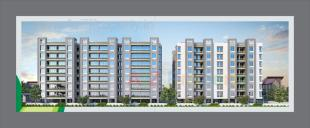 Elevation of real estate project Kishan Icon located at Maneja, Vadodara, Gujarat