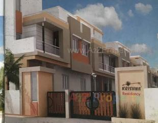 Elevation of real estate project Krishna Residency located at Padra, Vadodara, Gujarat