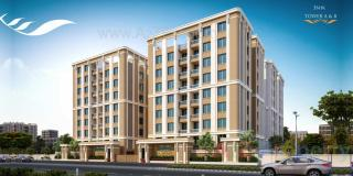 Elevation of real estate project Krishnam Airwings located at Vadodara, Vadodara, Gujarat
