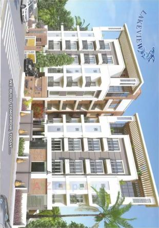 Elevation of real estate project Lakeview located at Bhayli, Vadodara, Gujarat