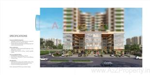 Elevation of real estate project Lilleria Paramount & Richmond Towers located at Manjalpur, Vadodara, Gujarat