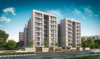 Elevation of real estate project Lilleria Signature located at Gotri, Vadodara, Gujarat