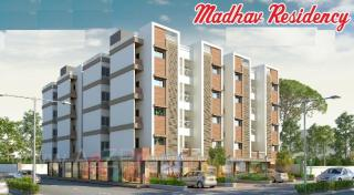 Elevation of real estate project Madhav Residency located at Bajwa, Vadodara, Gujarat