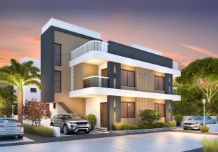 Elevation of real estate project Maruti Villa located at Ankhol, Vadodara, Gujarat