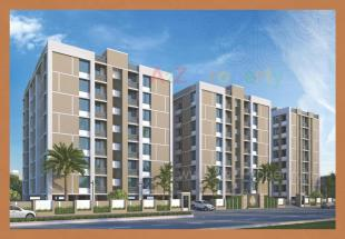 Elevation of real estate project Mudra Heights located at Vadsar, Vadodara, Gujarat