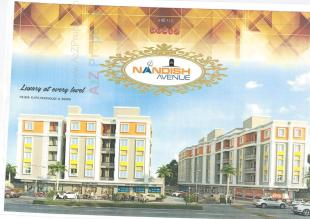 Elevation of real estate project Nandish Avenue located at Kalali, Vadodara, Gujarat