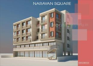 Elevation of real estate project Narayan Square located at Gorva, Vadodara, Gujarat