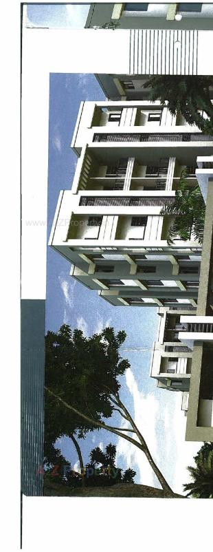 Elevation of real estate project Neel Deep Tower located at Dasharath, Vadodara, Gujarat
