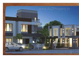 Elevation of real estate project Nirant Residency located at Kapurai, Vadodara, Gujarat