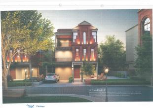 Elevation of real estate project Nirvaanta located at Sevasi, Vadodara, Gujarat