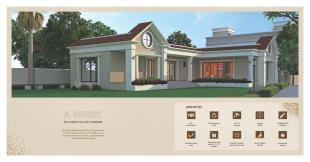 Elevation of real estate project Om Bungalows located at Kapurai, Vadodara, Gujarat