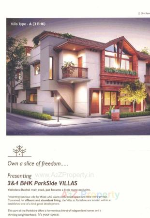 Elevation of real estate project Parkshire - Phase 2 located at Vadodara, Vadodara, Gujarat