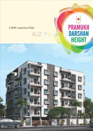 Elevation of real estate project Pramukh Darshan Height located at Danteshwar, Vadodara, Gujarat