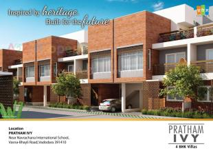 Elevation of real estate project Pratham Ivy located at Bhayli, Vadodara, Gujarat