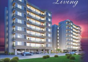 Elevation of real estate project Raama Elina And Raama Esquire located at Gotri, Vadodara, Gujarat