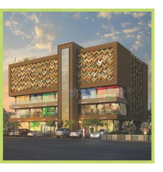 Elevation of real estate project Raama Icon located at Gotri, Vadodara, Gujarat