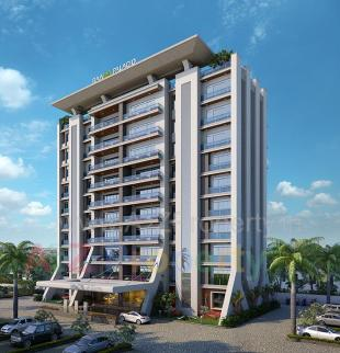 Elevation of real estate project Raama Palacio located at Gotri, Vadodara, Gujarat