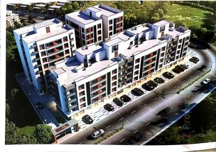 Elevation of real estate project Radhe Ratnam located at Vadodara, Vadodara, Gujarat