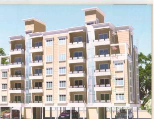 Elevation of real estate project Rafiya Park Residency located at Kasba, Vadodara, Gujarat