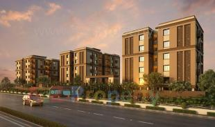 Elevation of real estate project Riddhi Siddhi Erica located at Vadodara, Vadodara, Gujarat