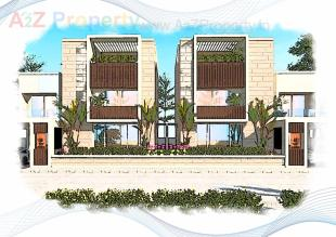 Elevation of real estate project Riverway Nx located at Serkhi, Vadodara, Gujarat