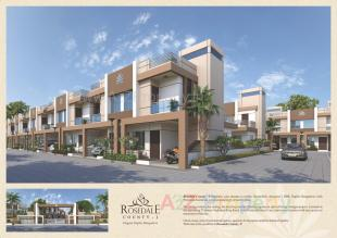 Elevation of real estate project Rosedale County - 1 located at Dhanyavi, Vadodara, Gujarat