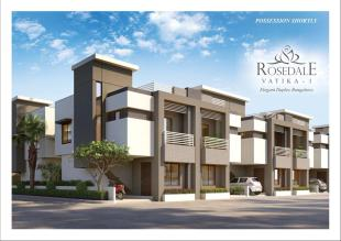 Elevation of real estate project Rosedale Vatika 1 located at Bill, Vadodara, Gujarat