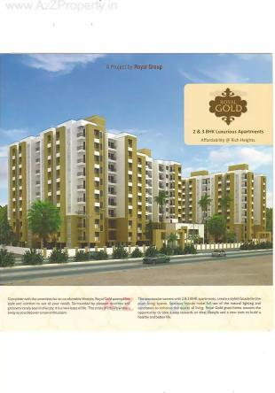 Elevation of real estate project Royal Gold located at Bapod, Vadodara, Gujarat