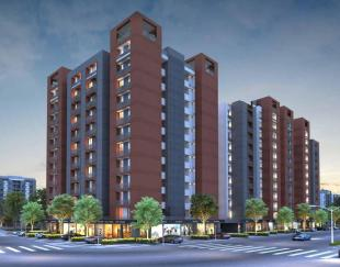 Elevation of real estate project Rudra Enclave located at Channi, Vadodara, Gujarat