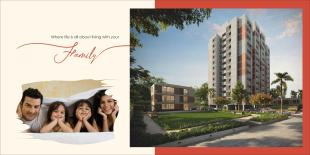 Elevation of real estate project Rudra Heights located at Sama, Vadodara, Gujarat