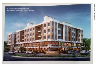 Elevation of real estate project Safal Icon located at Vadsar, Vadodara, Gujarat