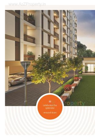 Elevation of real estate project Safalya Rise located at Kalali, Vadodara, Gujarat