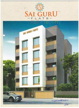 Elevation of real estate project Sai Guru Flats located at Kasba, Vadodara, Gujarat