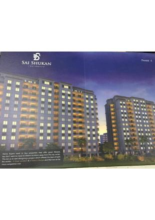 Elevation of real estate project Sai Shukan located at Kasba, Vadodara, Gujarat