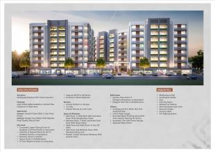 Elevation of real estate project Samanvay Samipya located at Vadodara, Vadodara, Gujarat